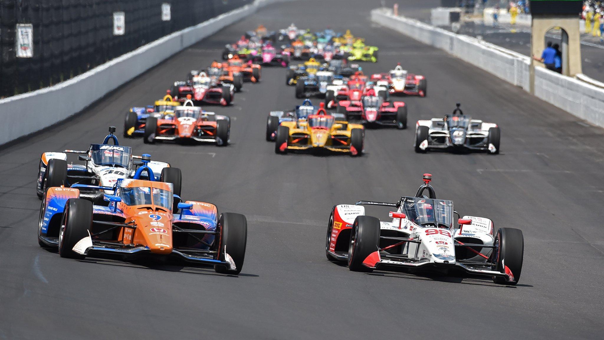 We gaan weer Indycarren!
